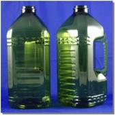 泰山3L方型淡綠瓶墨綠把
