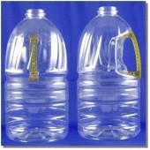 公模空白瓶3.3L透明黃把