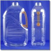 台糖油瓶3L透明橘把