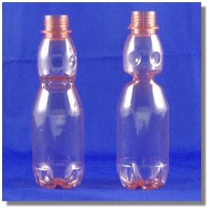 榮泉水蜜桃汽水瓶250cc透明桃紅