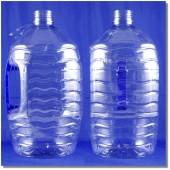 公模可口可樂礦泉水瓶5L藍瓶深藍把