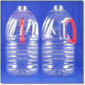 公模塑膠瓶3.75L紅把