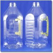 公模空白瓶2.6L方型淺黃把