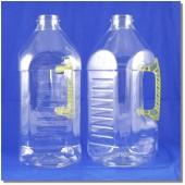 泰山空白油瓶2.8L方型淺黃把