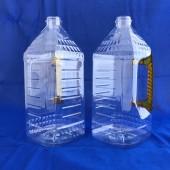 統一油瓶2L晶鑽方型