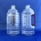 新建美油瓶3L(圓瓶) 透明咖啡手把(PET)