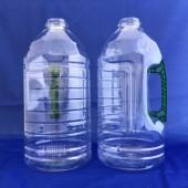 新建美油瓶3L(圓瓶) 透明重綠手把(PET)