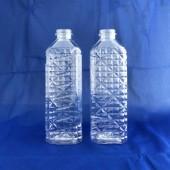 佳格水晶四角形油瓶-空瓶 600CC
