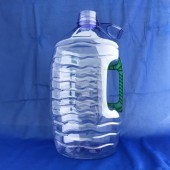 耐斯泡舒天然強效洗潔精5L  透明藍瓶,重綠色手把