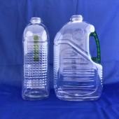 台糖油瓶 3L透明重綠色手把