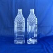 義美1L方型瓶  透明
