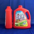 白帥帥鮮彩豔色抗菌洗衣精3150g(升級添加除臭配方)  紅色,模內貼標二張