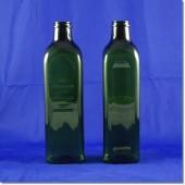 頂新空白瓶750cc(方型)墨綠色